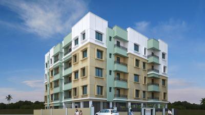 Gallery Cover Image of 600 Sq.ft 1 RK Apartment for rent in Red Prantik Rahora, Rahara for 75000