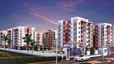 Gallery Cover Image of 1150 Sq.ft 3 BHK Apartment for rent in Aspira Aashiyana, Rajarhat for 18000
