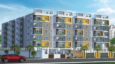 Gallery Cover Image of 1000 Sq.ft 3 BHK Apartment for buy in Akshita Heights Three, Malkajgiri for 5600000