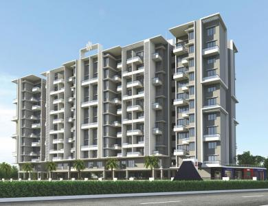 Gallery Cover Image of 450 Sq.ft 1 RK Apartment for rent in Sai Aura, Ravet for 12000