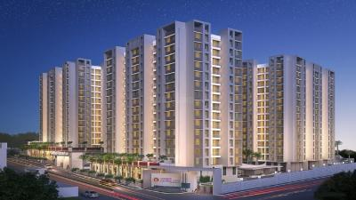 Gallery Cover Image of 615 Sq.ft 1 BHK Apartment for buy in Charms Global City Type A1 Liberty, Ambernath East for 3200000