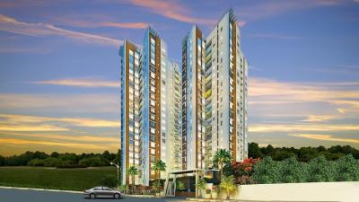 Gallery Cover Image of 1007 Sq.ft 2 BHK Apartment for rent in Oswal Orchard 126, Agarpara for 16500