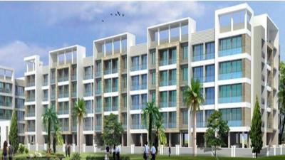 Gallery Cover Image of 420 Sq.ft 1 RK Apartment for buy in Emkayen Balaji Splendour Phase II, Adaigaon for 2200000