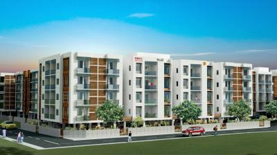 Gallery Cover Image of 1484 Sq.ft 3 BHK Apartment for rent in BBCL Ashraya, Thoraipakkam for 22000