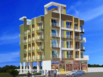 Gallery Cover Image of 600 Sq.ft 1 BHK Apartment for buy in Durvankaur Apartments, Taloje for 3500000