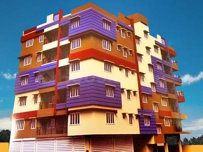 Gallery Cover Image of 796 Sq.ft 2 BHK Apartment for rent in Santana Apartment, Rajarhat for 8000