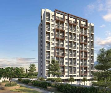 Gallery Cover Image of 650 Sq.ft 1 BHK Apartment for rent in Avnee Optima Heights Building E, Kesnand for 7000