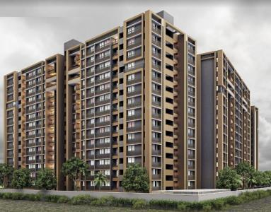 Gallery Cover Image of 600 Sq.ft 1 BHK Apartment for buy in Vyapti Vandemataram Mahadev Lily, Maninagar for 3000000