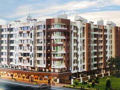 Gallery Cover Image of 590 Sq.ft 1 BHK Apartment for buy in Mansarovar Blue Mount Edifice, Vasai West for 4200000