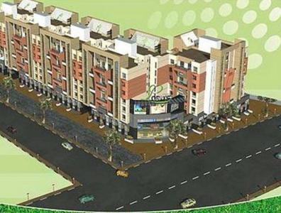 Gallery Cover Image of 970 Sq.ft 2 BHK Apartment for buy in GK Dwarka Lords, Rahatani for 7200000