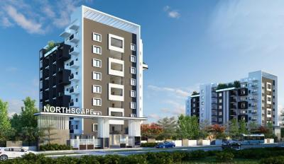 Gallery Cover Image of 453 Sq.ft 1 BHK Apartment for buy in Mahaveer Northscape, Navarathna Agrahara for 3800000