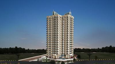 Gallery Cover Image of 1300 Sq.ft 3 BHK Apartment for rent in Raunak Sai Dham Towers, Kandivali West for 42000