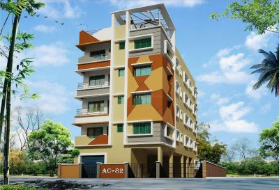 Gallery Cover Image of 750 Sq.ft 2 BHK Apartment for rent in Sun AC 82, New Town for 7500