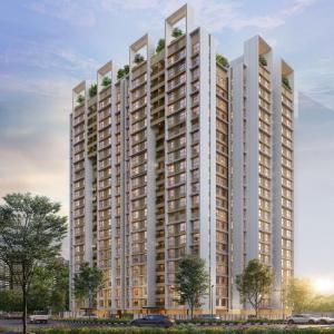 Gallery Cover Image of 1100 Sq.ft 2 BHK Apartment for buy in Shapoorji Pallonji Sewri, Sewri for 21000000