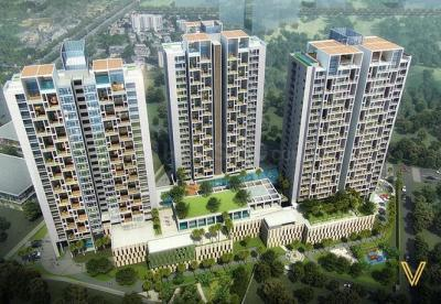 Gallery Cover Image of 3150 Sq.ft 3 BHK Apartment for rent in Stratford Verde Residence Collection, Kalyani Nagar for 150000