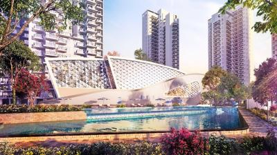 Gallery Cover Image of 1557 Sq.ft 3 BHK Apartment for buy in Godrej Nature Plus, Sector 33, Sohna for 9400000