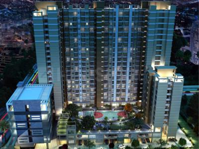 Gallery Cover Image of 560 Sq.ft 1 BHK Apartment for rent in Ashar 16, Thane West for 22000