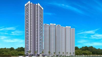 Gallery Cover Image of 1100 Sq.ft 3 BHK Apartment for buy in Wadhwa Solitaire, Thane West for 14500000
