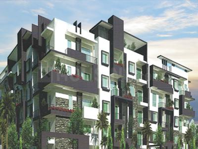 Gallery Cover Image of 1600 Sq.ft 3 BHK Apartment for rent in Mahaveer Fair Oaks, Whitefield for 25000