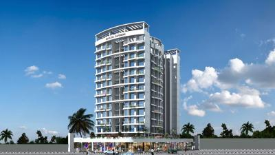Gallery Cover Image of 650 Sq.ft 1 BHK Apartment for rent in Sapphire Skyline Sapphire, Taloje for 7500
