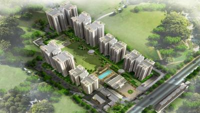 Gallery Cover Image of 452 Sq.ft 1 BHK Apartment for rent in MGH Mulberry County, Sector 70 for 6000