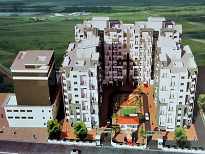 Gallery Cover Image of 650 Sq.ft 1 BHK Apartment for rent in Rohan Rudra, Wagholi for 9000