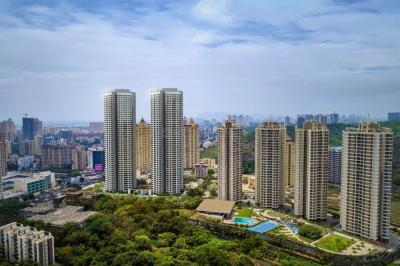 Gallery Cover Image of 1200 Sq.ft 2 BHK Apartment for rent in Dynamix Group Parkwoods, Thane West for 23000