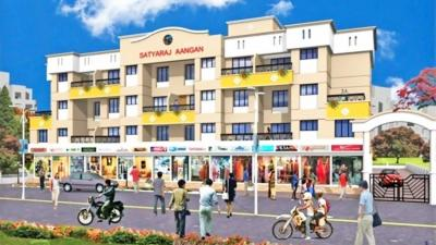 Gallery Cover Image of 550 Sq.ft 1 BHK Apartment for rent in Aangan, Hadapsar for 10500