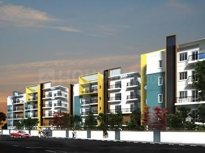 Gallery Cover Image of 1393 Sq.ft 3 BHK Apartment for rent in Earls Court, Kudlu for 26000