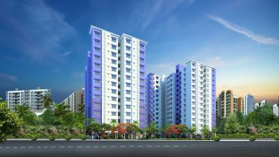 Gallery Cover Image of 1291 Sq.ft 3 BHK Apartment for rent in Symphony, Padur for 22000