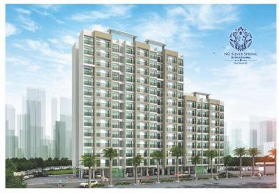 Gallery Cover Image of 999 Sq.ft 2 BHK Apartment for buy in RNA N G Silver Spring Phase II, Mira Road East for 7550000