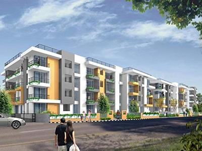 Gallery Cover Image of 1050 Sq.ft 2 BHK Apartment for buy in Vision Casa Dream, Devinagar for 6000000