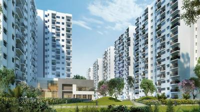 Gallery Cover Image of 1035 Sq.ft 2 BHK Apartment for buy in Godrej Avenues by Godrej Properties Ltd. , Kodigehalli for 7000000