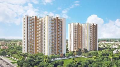 Gallery Cover Image of 1776 Sq.ft 3 BHK Apartment for buy in Mahindra Windchimes, Arakere for 17500000