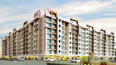 Gallery Cover Image of 615 Sq.ft 1 BHK Apartment for rent in Parikh Peninsula Park, Virar West for 9000