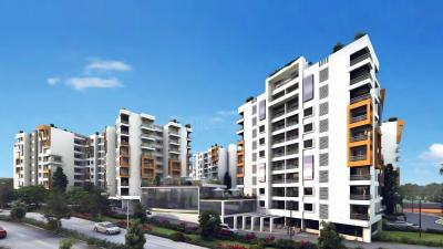 Gallery Cover Image of 1253 Sq.ft 2 BHK Apartment for rent in Fiesta Homes, Rayasandra for 20000