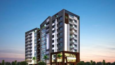 Gallery Cover Image of 2300 Sq.ft 4 BHK Apartment for rent in Bhoomi and Buildings White Rose, Thoraipakkam for 40000