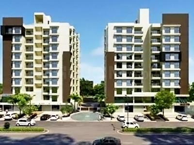 Gallery Cover Image of 1597 Sq.ft 3 BHK Apartment for buy in Shivam Priory, Makarba for 7800000