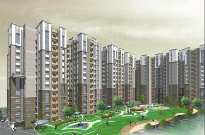 Gallery Cover Image of 1573 Sq.ft 3 BHK Apartment for rent in Avani Oxford I, Lake Town for 49000