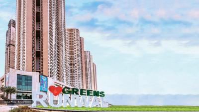 Gallery Cover Image of 1500 Sq.ft 3 BHK Apartment for buy in Runwal Greens, Bhandup West for 23500000