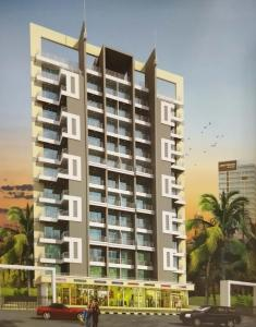Gallery Cover Image of 670 Sq.ft 1 BHK Apartment for rent in Skyline Bhakti Heights, Ulwe for 8500