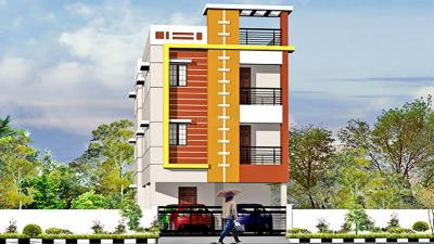 Gallery Cover Image of 1123 Sq.ft 3 BHK Apartment for buy in Prabha Smart, Iyyappanthangal for 7100000