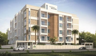 Gallery Cover Image of 1364 Sq.ft 2 BHK Apartment for buy in Foundations Silicon, Mysuru for 4800000