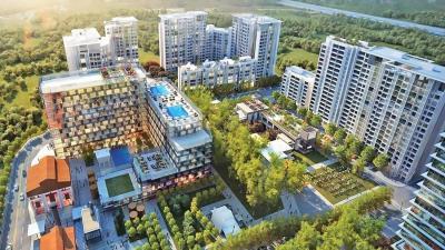 Gallery Cover Image of 490 Sq.ft 1 BHK Apartment for buy in Godrej The Trees, Vikhroli East for 17500000