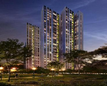 Gallery Cover Image of 511 Sq.ft 1 BHK Apartment for rent in Lodha Estrella, Sion for 42000
