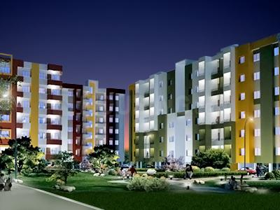 Gallery Cover Image of 648 Sq.ft 2 BHK Apartment for buy in Evergreen, Chichli for 1700000