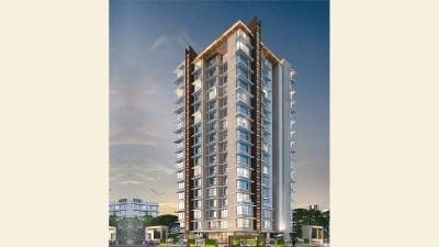 Gallery Cover Image of 650 Sq.ft 1 BHK Apartment for buy in Aadhunik Greens, Borivali West for 10500000