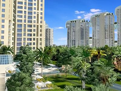 Gallery Cover Image of 2465 Sq.ft 4 BHK Apartment for rent in Jaypee Wish Town Klassic, Sector 128 for 38000