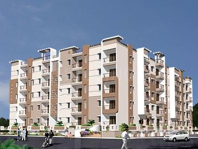 Gallery Cover Image of 1178 Sq.ft 2 BHK Apartment for rent in Aashrayaa Aashrayaa Serenity, Akshayanagar for 18000