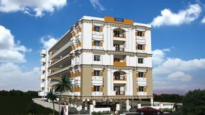 Gallery Cover Image of 1120 Sq.ft 2 BHK Apartment for buy in Eshwar Samyuktha Residency, Sayeedabad for 6800000
